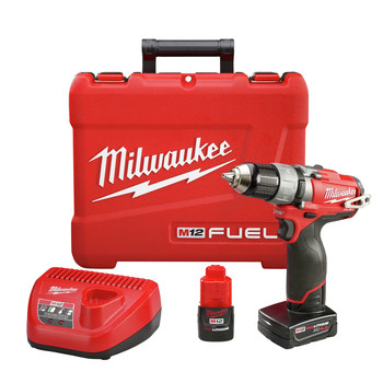 Milwaukee 2403-22 M12 FUEL 12V Cordless Lithium-Ion 1\/2 in. Drill Driver