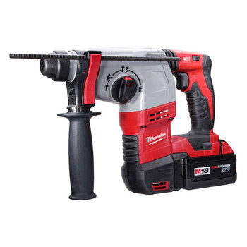 Milwaukee 2605-22 M18 18V Cordless Lithium-Ion 7\/8 in. SDS Plus Rotary Hammer Kit
