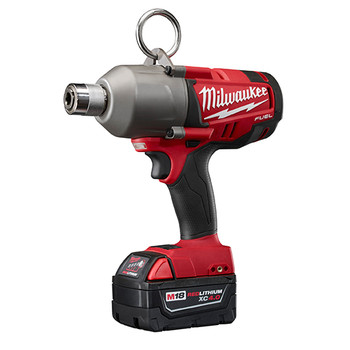 Milwaukee 2765-22 M18 FUEL 18V Cordless 7\/16 in. Utility Impacting Drill with 2 REDLITHIUM Batteries