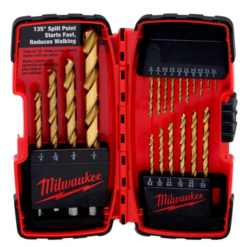 Picture of Milwaukee 48-89-1105 20 pc Titanium Drill Bit Set