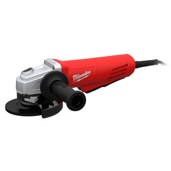 Milwaukee 6146-30 4-1\/2 in. 11.0 Amp Paddle Switch Grinder with Lock-On Button and Electronic Clutch