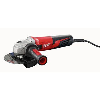 Milwaukee 6161-33 6 in. 13 Amp Slide Switch Small Angle Grinder with Lock-On Button