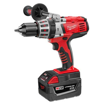 Milwaukee 0726-82 28V Cordless M28 1\/2 in. Hammer Drill