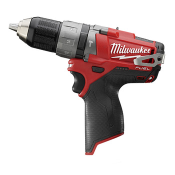 Milwaukee 2404-80 M12 FUEL 12V Cordless Lithium-Ion 1\/2 in. Hammer Drill Driver (Bare Tool)