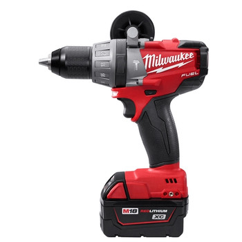 Milwaukee 2604-82 M18 FUEL 18V Cordless Lithium-Ion Hammer Drill with XC Batteries