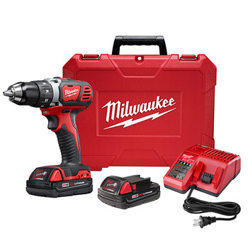 Milwaukee 2606-82CT M18 18V Cordless Lithium-Ion 1\/2 in. Drill Driver Kit