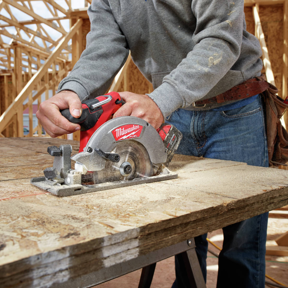 M18 FUEL 6-1/2 in. Circular Saw outpowers all other 18-Volt cordless circular saws