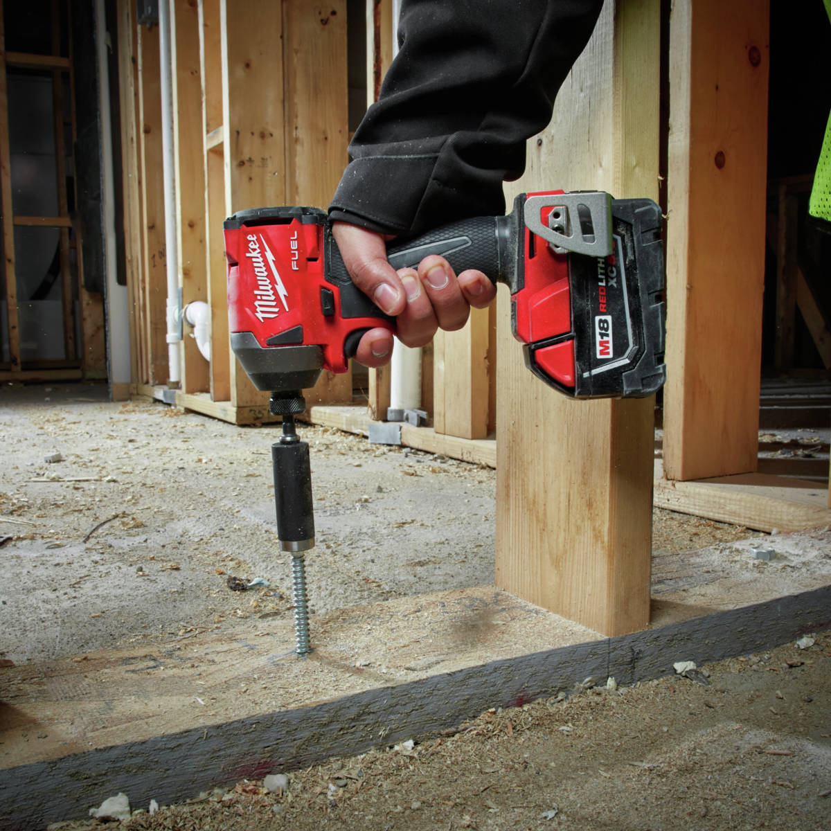 M18 FUEL 1/4 in. Hex Impact Driver provides the power for the most demanding applications