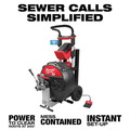 Milwaukee MXF500-1CP MX FUEL Lithium-Ion Cordless Sewer Drum Machine Kit image number 3