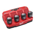 Milwaukee 48-59-1204 M12 Four Bay Sequential Charger image number 0
