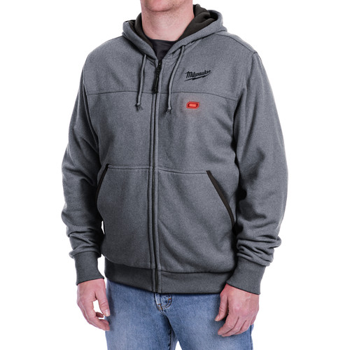 Milwaukee 302G-20S M12 12V Li-Ion Heated Hoodie (Bare Tool) - Small