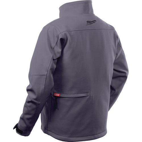 Milwaukee 202G-21S M12 Heated TOUGHSHELL Jacket Kit - Gray, Small image number 3
