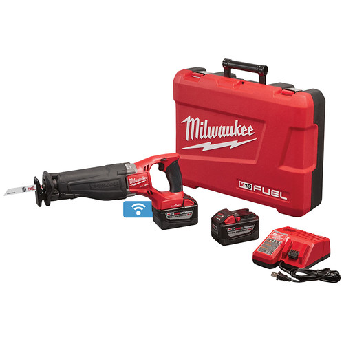 Milwaukee 2721-22HD M18 FUEL SAWZALL Reciprocating Saw Kit with ONE-KEY Technology