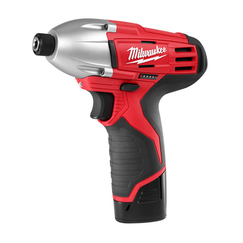 Factory Reconditioned Milwaukee 2450-82 M12 12V Cordless Lithium-Ion 1/4 in. Impact Driver Kit