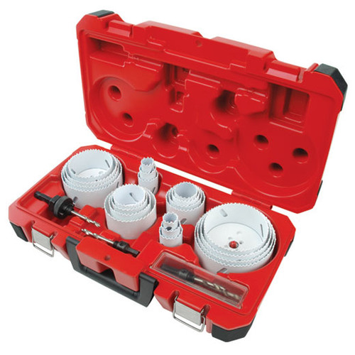 Milwaukee 49-22-4185 28-Piece All Purpose Professional Hole Dozer Hole Saw Kit image number 0