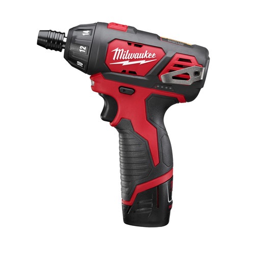 Milwaukee 2401-22 M12 Lithium-Ion Sub-Compact Screwdriver Kit with 2 Batteries image number 2