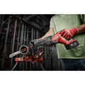 Milwaukee 2821-21 M18 FUEL Brushless Lithium-Ion SAWZALL 1-1/4 in. Cordless Reciprocating Saw Kit with (1) Battery (5 Ah) image number 18
