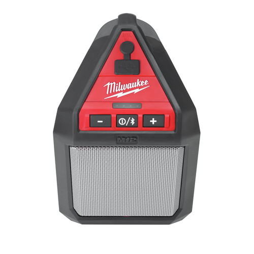 Milwaukee 2592-21 M12 12V Wireless Jobsite Speaker Kit with Battery and Charger image number 3