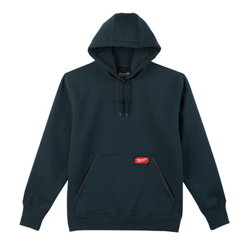 Milwaukee 350BL-M Heavy Duty Pullover Hoodie - Navy Blue, Medium