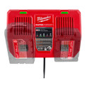 Milwaukee 48-59-1802 M18 Dual Bay Simultaneous Rapid Lithium-Ion Charger image number 12