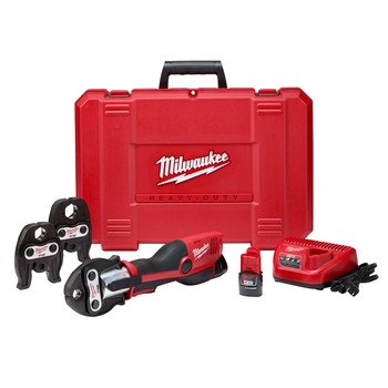 Milwaukee 2473-22 M12 Cordless Lithium-Ion FORCE LOGIC Press Tool Kit image number 0