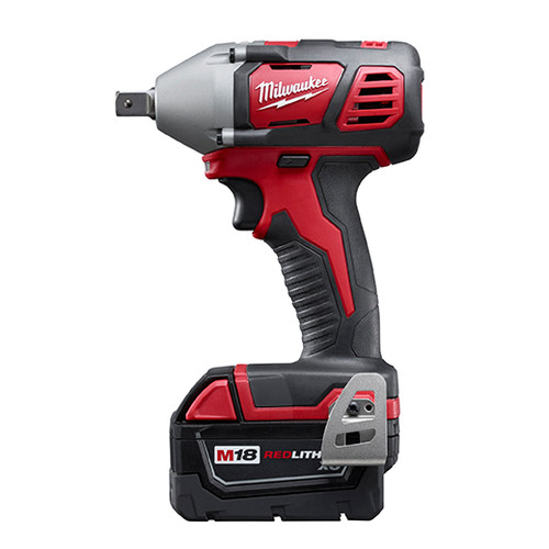 Milwaukee 2659-22 M18 Lithium-Ion 1/2 in. Impact Wrench Kit with Pin Detent image number 1