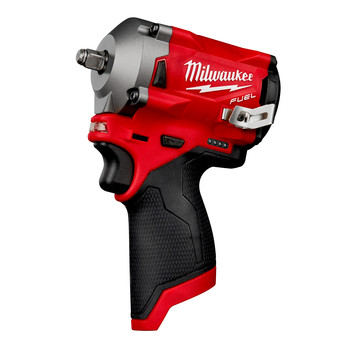 Milwaukee 2554-20 M12 FUEL Compact Lithium-Ion 3/8 in. Cordless Stubby Impact Wrench (Tool Only)