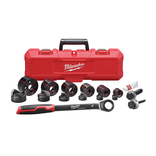 Milwaukee 49-16-2694 EXACT 1/2 - 2 in. 15-Piece Hand Ratchet Knockout Set