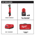 Milwaukee 2565-22 M12 FUEL Lithium-Ion 1/2 in. Cordless Right Angle Impact Wrench Kit with Friction Ring (2 Ah) image number 1
