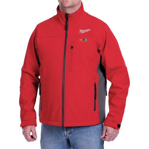 Milwaukee 202R-202X M12 12V Li-Ion Heated ToughShell Jacket (Jacket Only) - 2XL image number 6