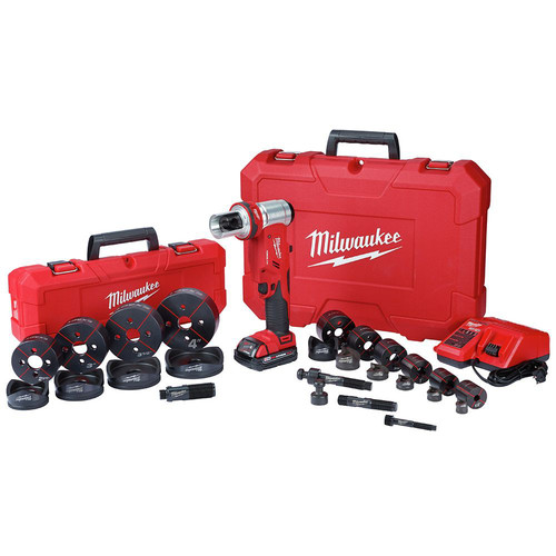 Milwaukee 2677-23 M18 ForceLogic 6T Knockout Tool 1/2 in. - 4 in Kit