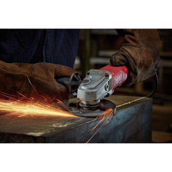Milwaukee 6142-31 4-1/2 in. Small Angle Grinder No-Lock image number 3