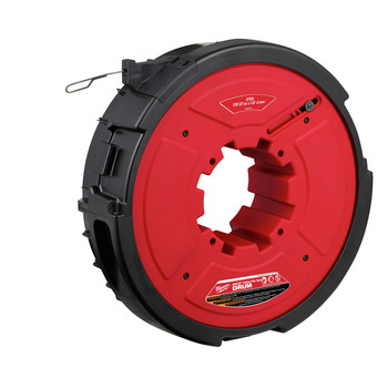 Milwaukee 48-44-5176 M18 FUEL ANGLER 120 ft. x 1/8 in. Steel Pulling Fish Tape Drum