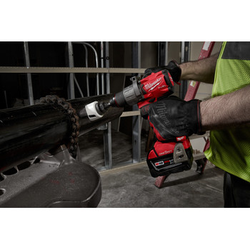 Milwaukee 2806-22 M18 FUEL Lithium-Ion 1/2 in. Cordless Hammer Drill Kit with ONE-KEY (5 Ah) image number 4