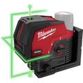 Milwaukee 3622-20 M12 Green Cross Line and Plumb Points Cordless Laser (Tool Only) image number 0
