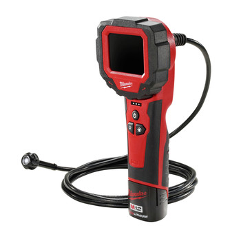 Milwaukee 2314-21 M12 Lithium-Ion M-SPECTOR 360 Rotating Digital Inspection Camera with 9 ft. Cable image number 1