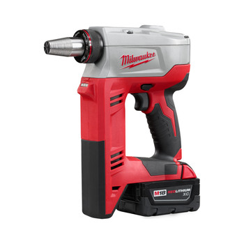 Milwaukee 2632-22XC M18 ProPEX 18V Cordless Lithium-Ion Expansion Tool with 2 XC Batteries image number 1