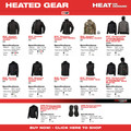 Milwaukee 302G-21XL M12 12V Li-Ion Heated Hoodie Kit - XL image number 11