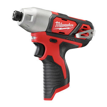 Milwaukee 2462-20 M12 12V Cordless Lithium-Ion 1/4 in. Hex Impact Driver (Tool Only) image number 1