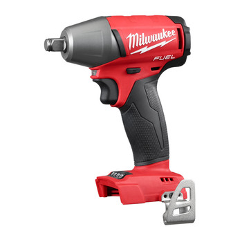 Milwaukee 2755B-20 M18 FUEL Cordless Lithium-Ion 1/2 in. Compact Impact Wrench with Friction Ring (Tool Only)