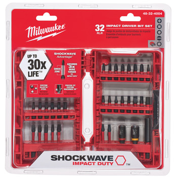 Milwaukee 48-32-4004I 32-Piece Shockwave Impact Duty Bit Set image number 0