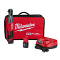 Milwaukee 2557-22 M12 FUEL 3/8 in. Ratchet Kit with (2) Li-Ion Batteries image number 0