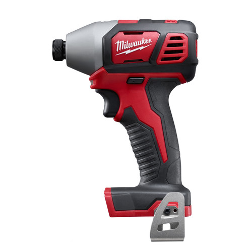 Milwaukee 2656-21L M18 18V Cordless Lithium-Ion 1/4 in. Hex Impact Driver Kit with Free LED Work Light image number 2