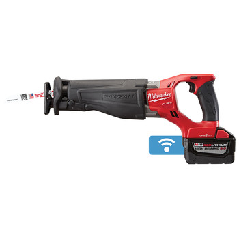Milwaukee 2721-22HD M18 FUEL SAWZALL Reciprocating Saw Kit with ONE-KEY Technology image number 2