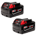 Milwaukee 48-11-1822 M18 18V REDLITHIUM XC3.0 High Capacity Battery (2 Pc)