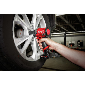 Milwaukee 2555-20 M12 FUEL Stubby 1/2 in. Impact Wrench with Friction Ring (Tool Only) image number 2