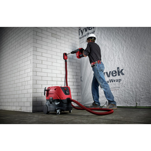 Milwaukee 2717-22HD M18 FUEL 9.0 Ah Cordless Lithium-Ion 1-9/16 in. Rotary Hammer Kit with 2 Batteries image number 2