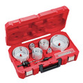 Milwaukee 49-22-4105 19 Piece Master Electricians Ice Hardened Hole Saw Kit
