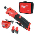Milwaukee 2486-22 M12 FUEL Lithium-Ion In line Die Grinder Kit (2 Ah) image number 0