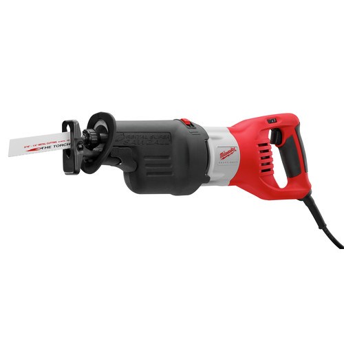 Milwaukee 6538-21 15 Amp Super Sawzall Orbital Reciprocating Saw with Case